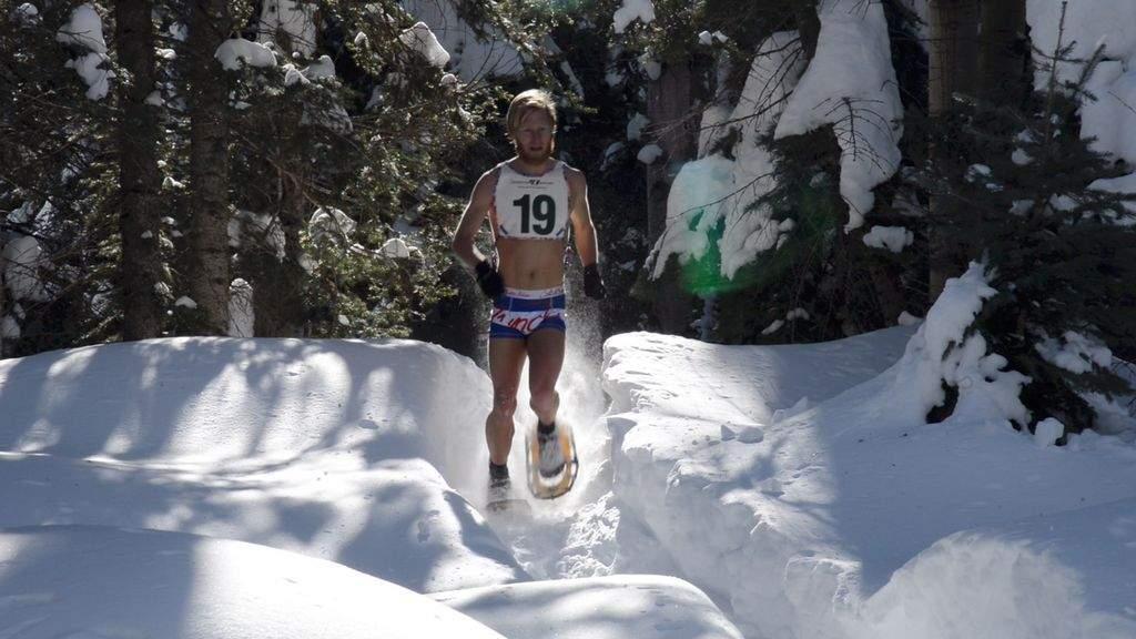 winter warrior snowshoe racer