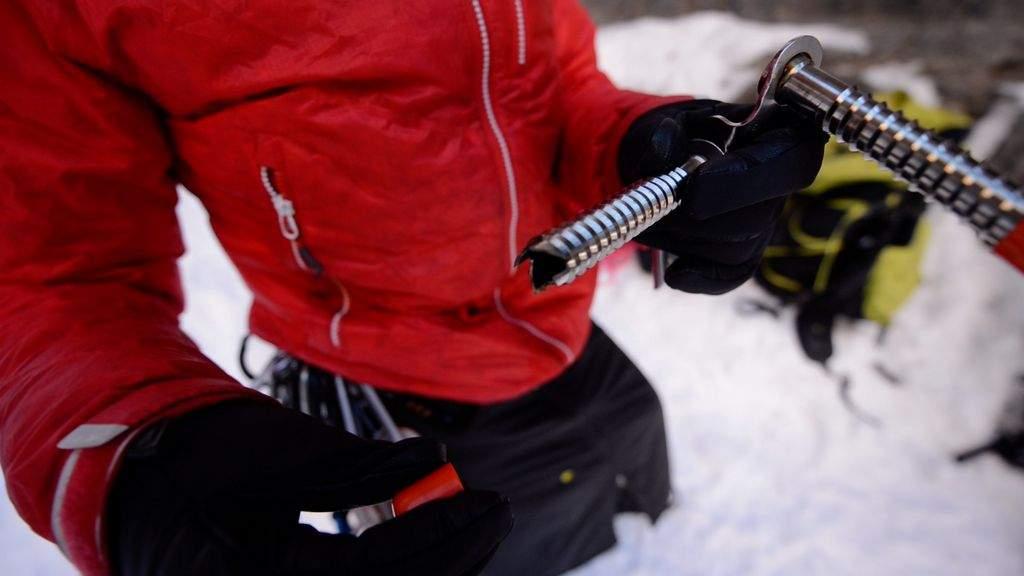 Black Diamond ice screw
