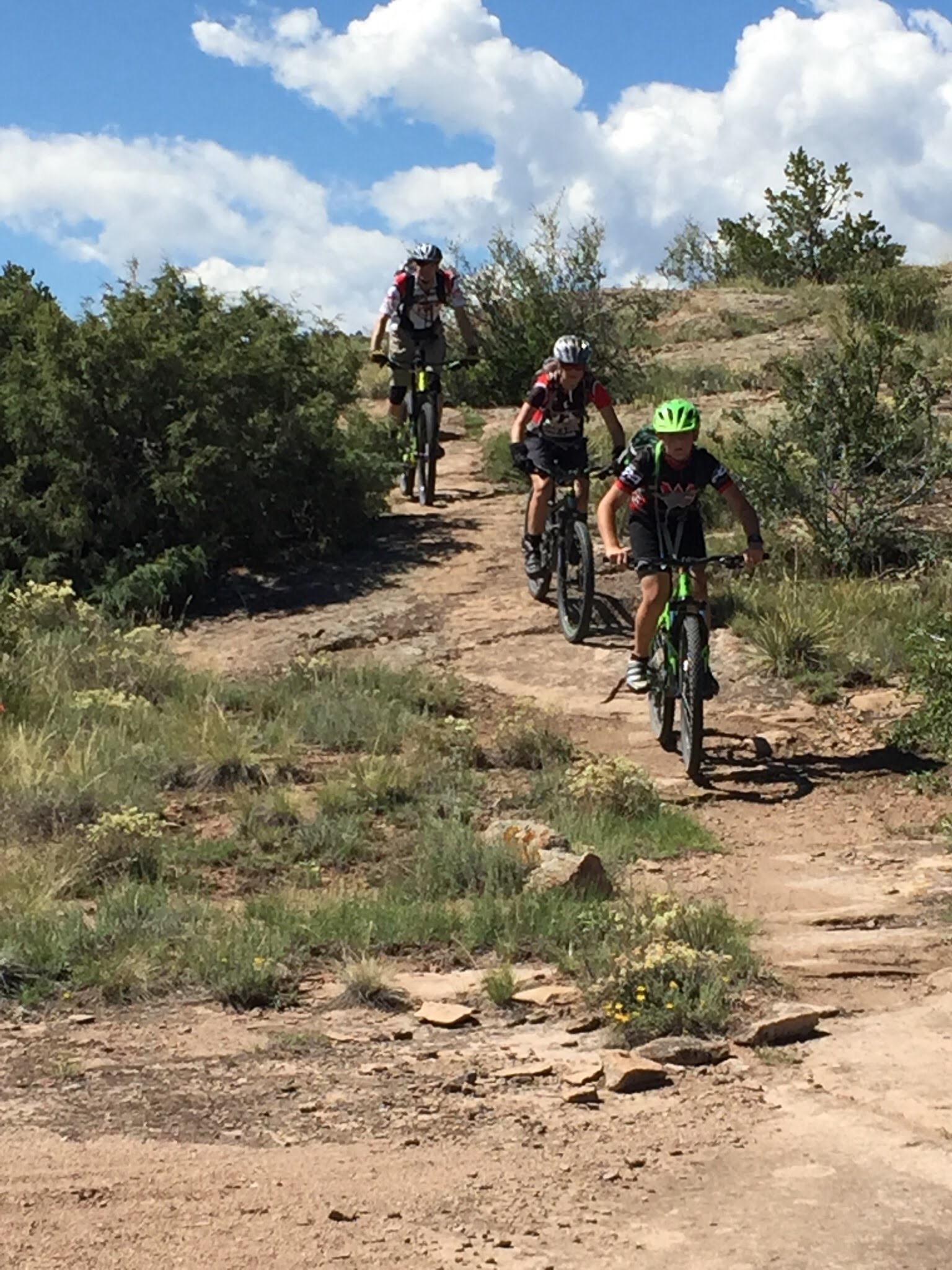 Colorado high school mountain biking