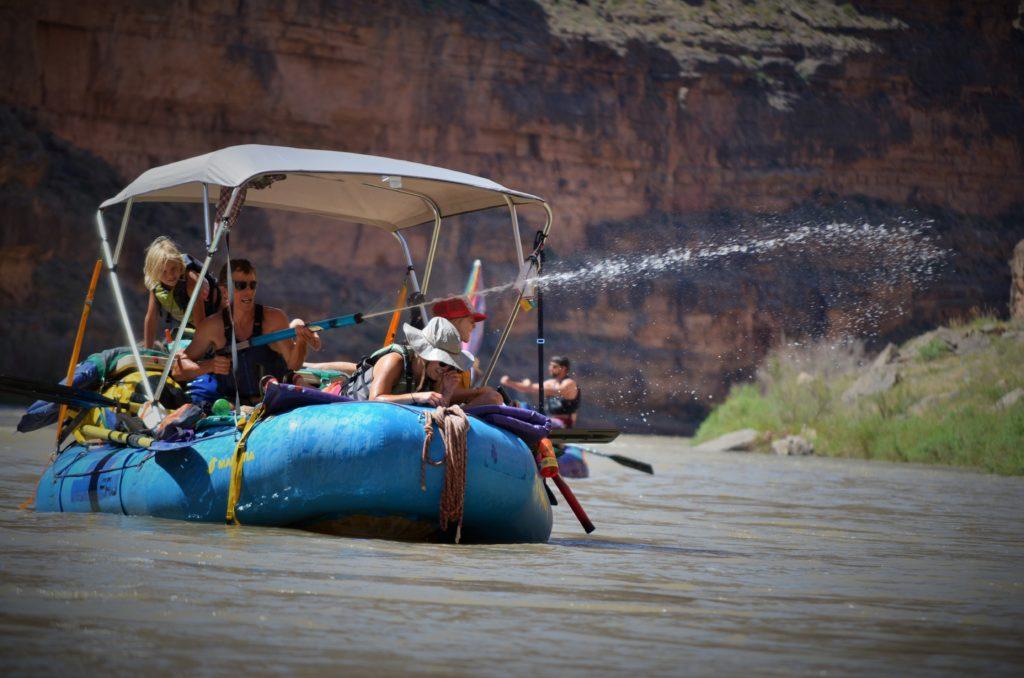 San Juan River rafting family vacation