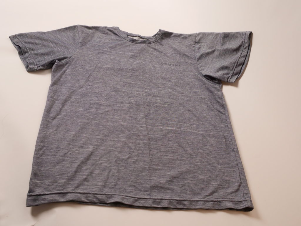 A Voormi Dual Surface Tech Tee. Photo by Laurie Kain