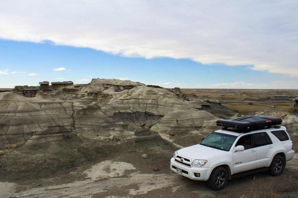Roofnest hard-shell rooftop tent