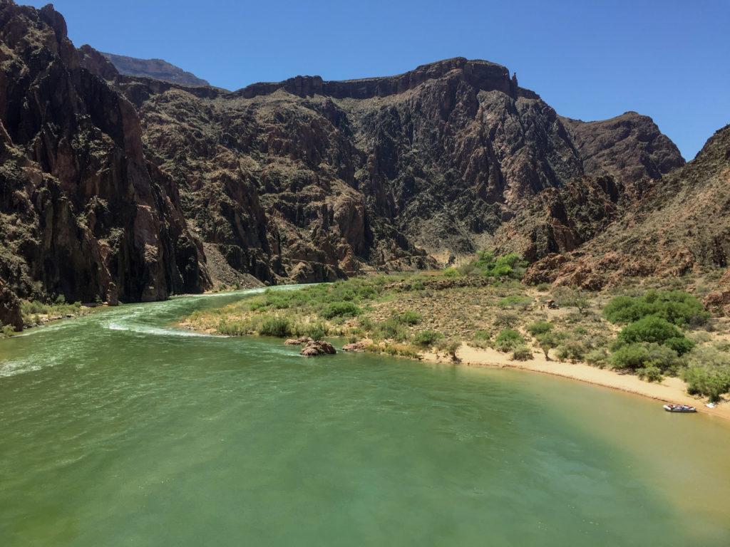 Grand Canyon Colorado River Phantom Ranch