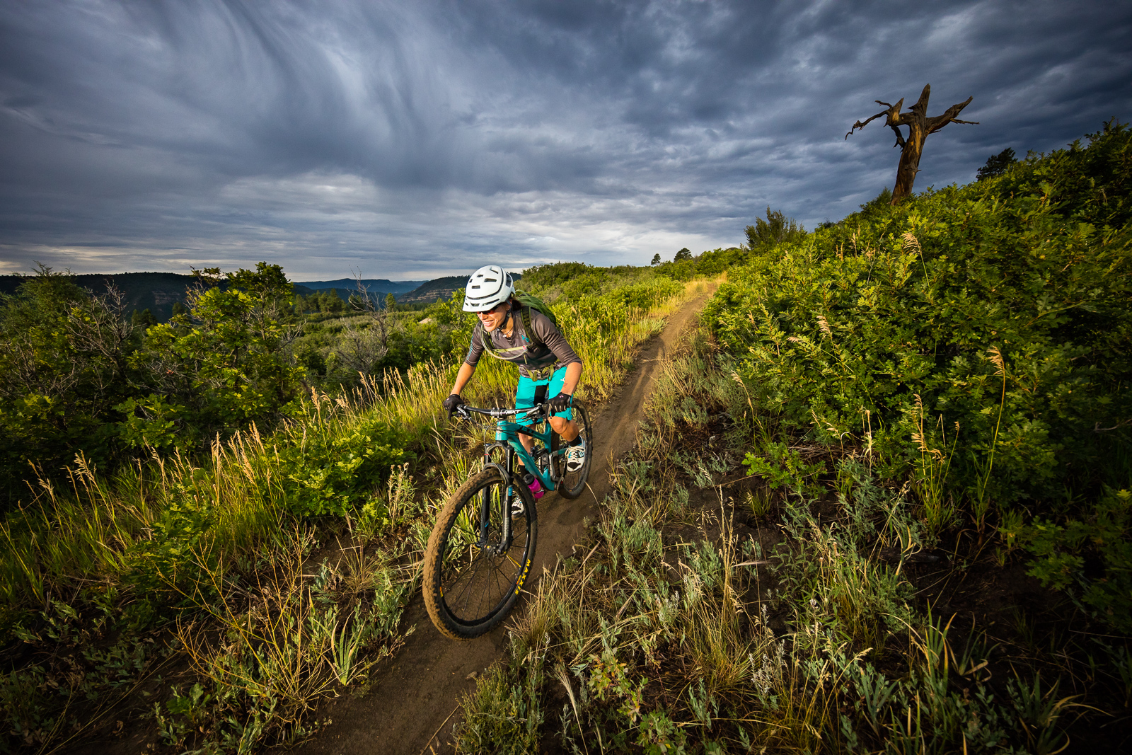 nichole baker mountain biking