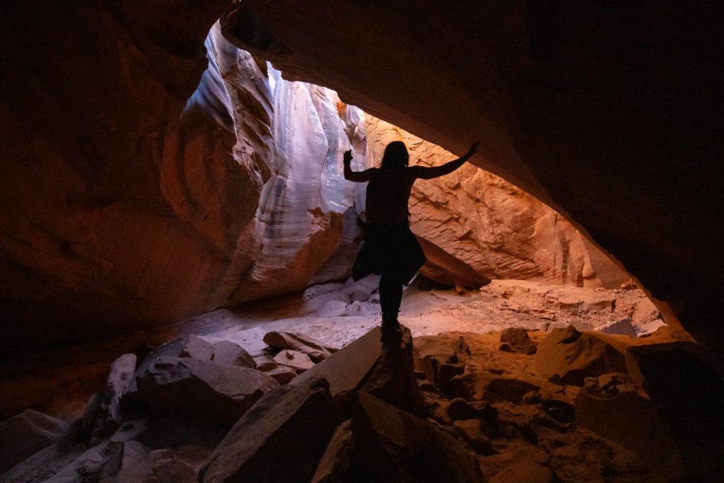 slot canyon