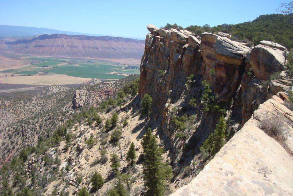 nyswonger mesa paradox valley west end colorado landscape