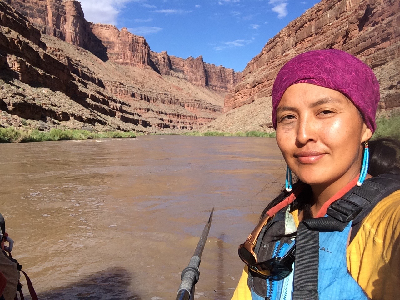 san juan river raft guide colleen cooley
