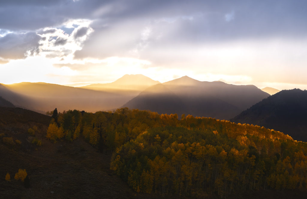 behind the lens fall colors crested butte colorado aspens