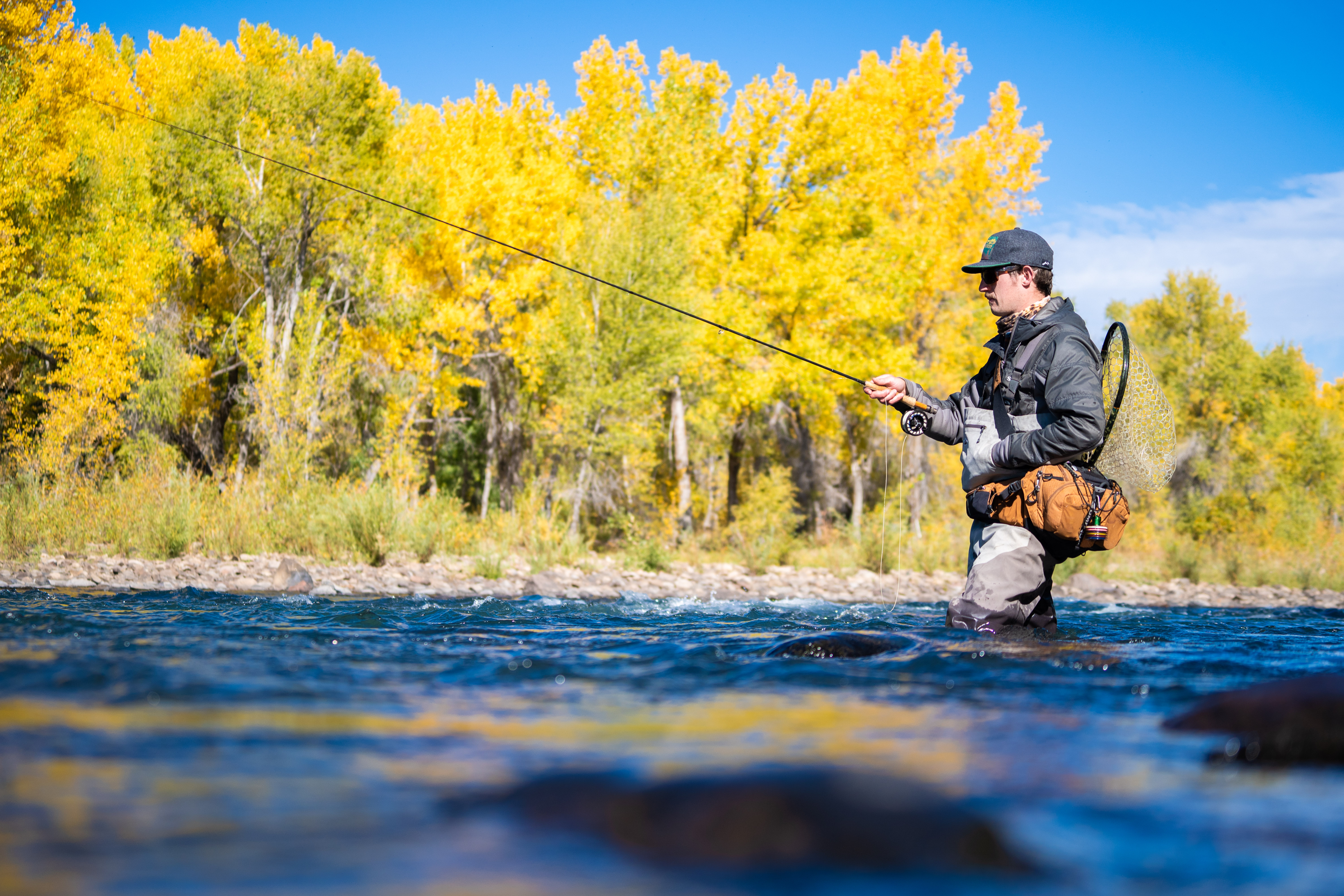 animas river fall fly fishing four corners durango colorado