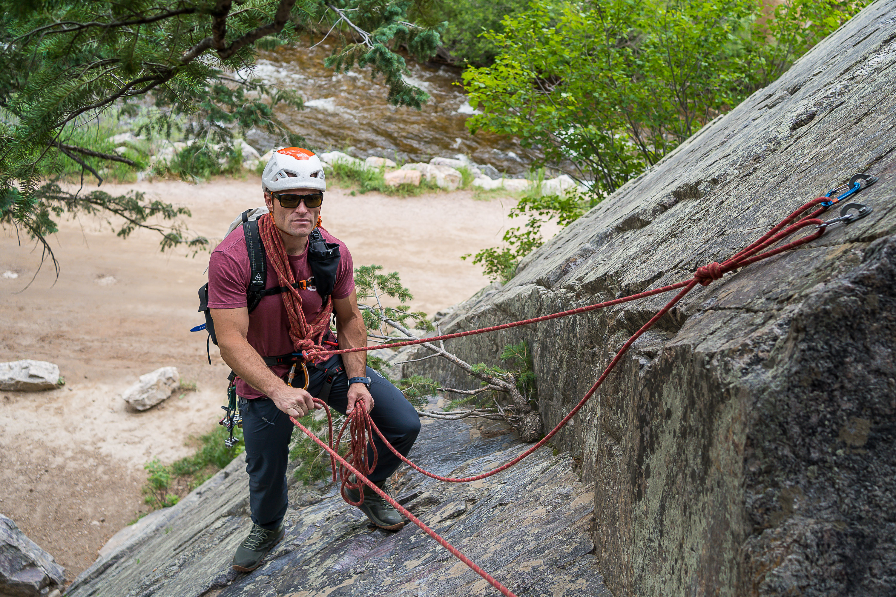 jason antin mountain guide rock climbing