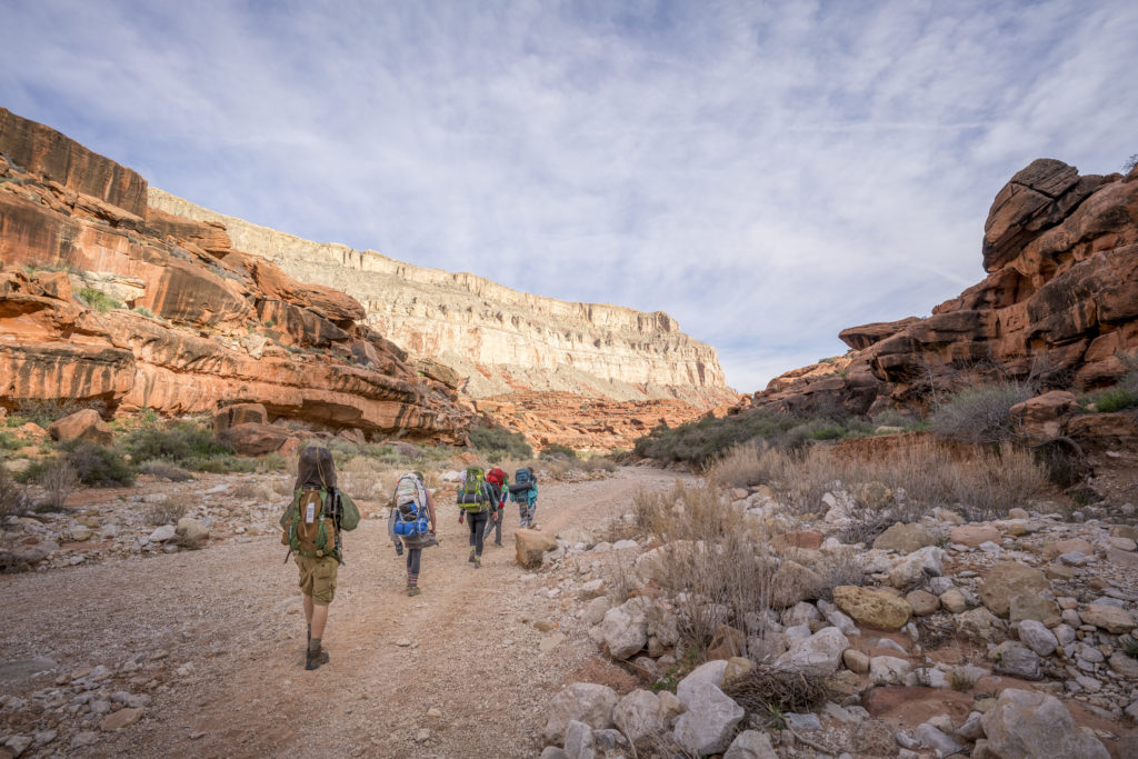 havasu canyon arizona backpackers