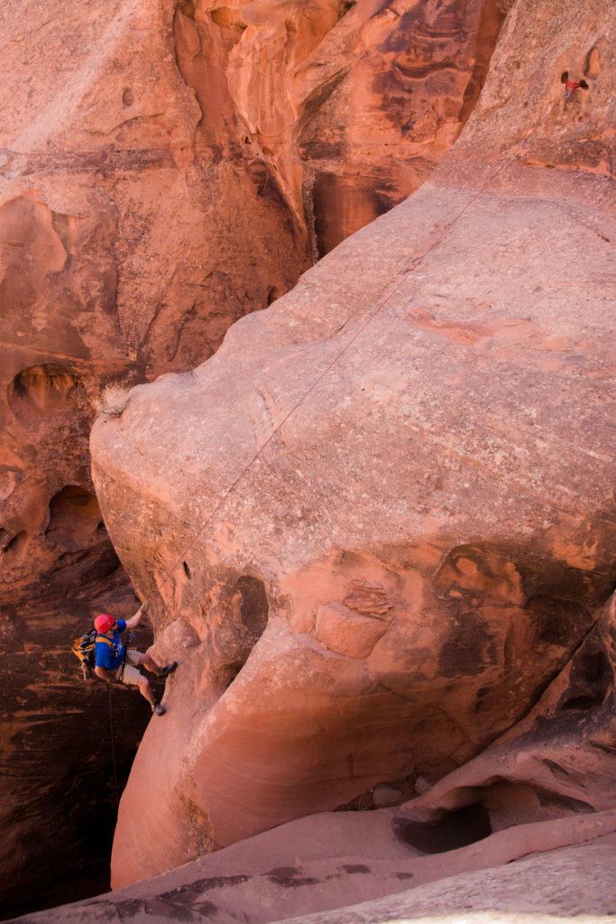 canyoneering slot canyons utah