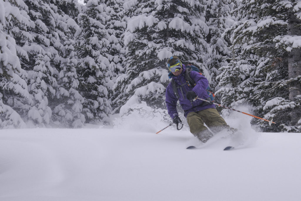 backcountry touring gear skiing powder san juan mountains