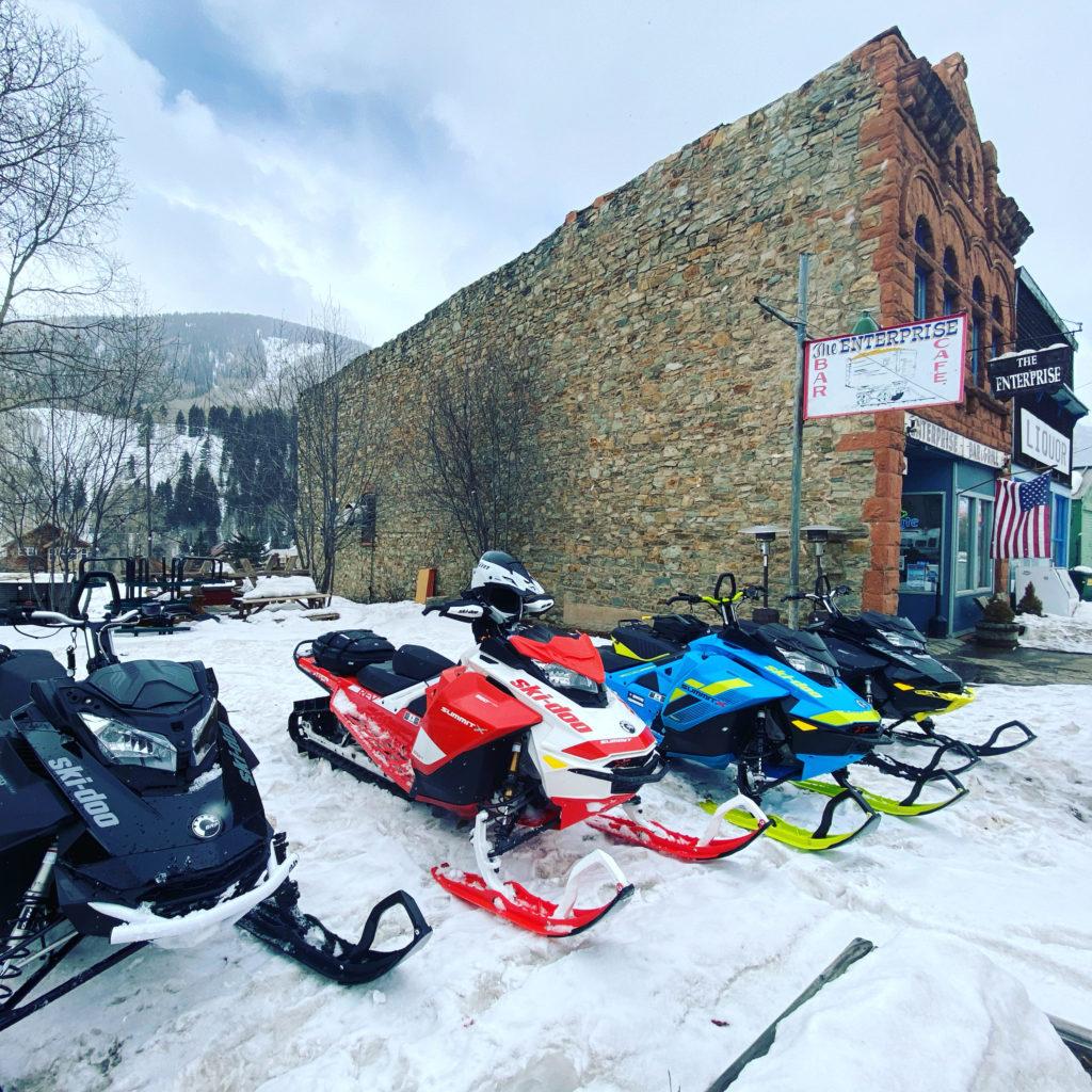 snowmobiles enterprise bar and grill rico colorado