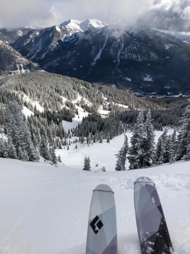 backcountry skiing rico colorado
