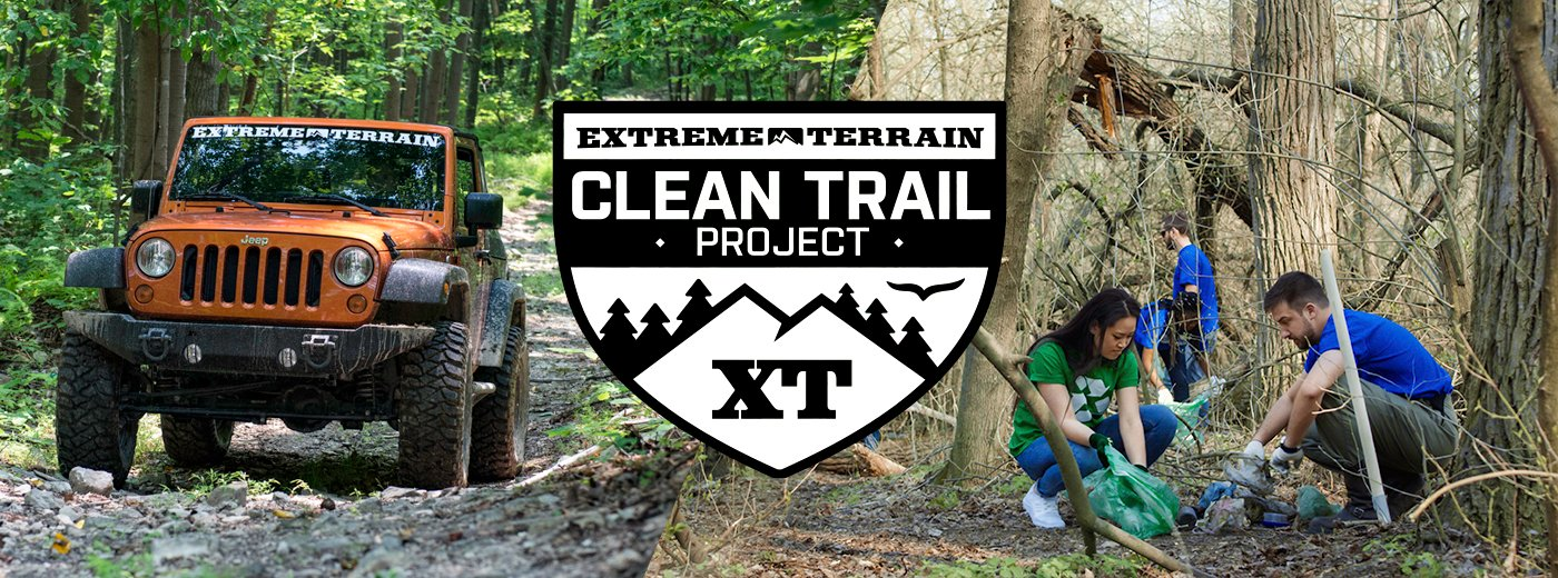 ExtremeTerrain Clean Trail Project