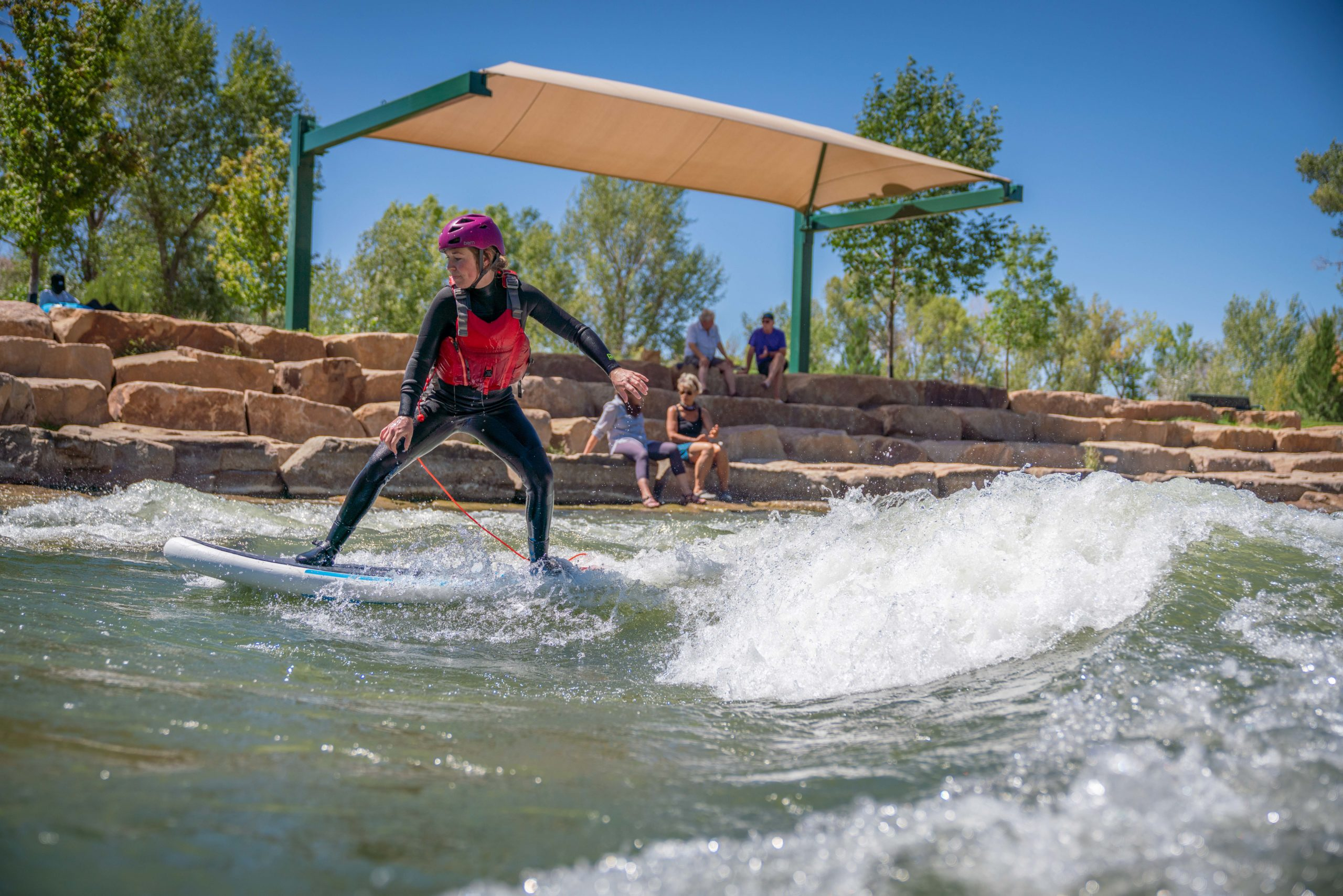 montrose water sports park river surfing