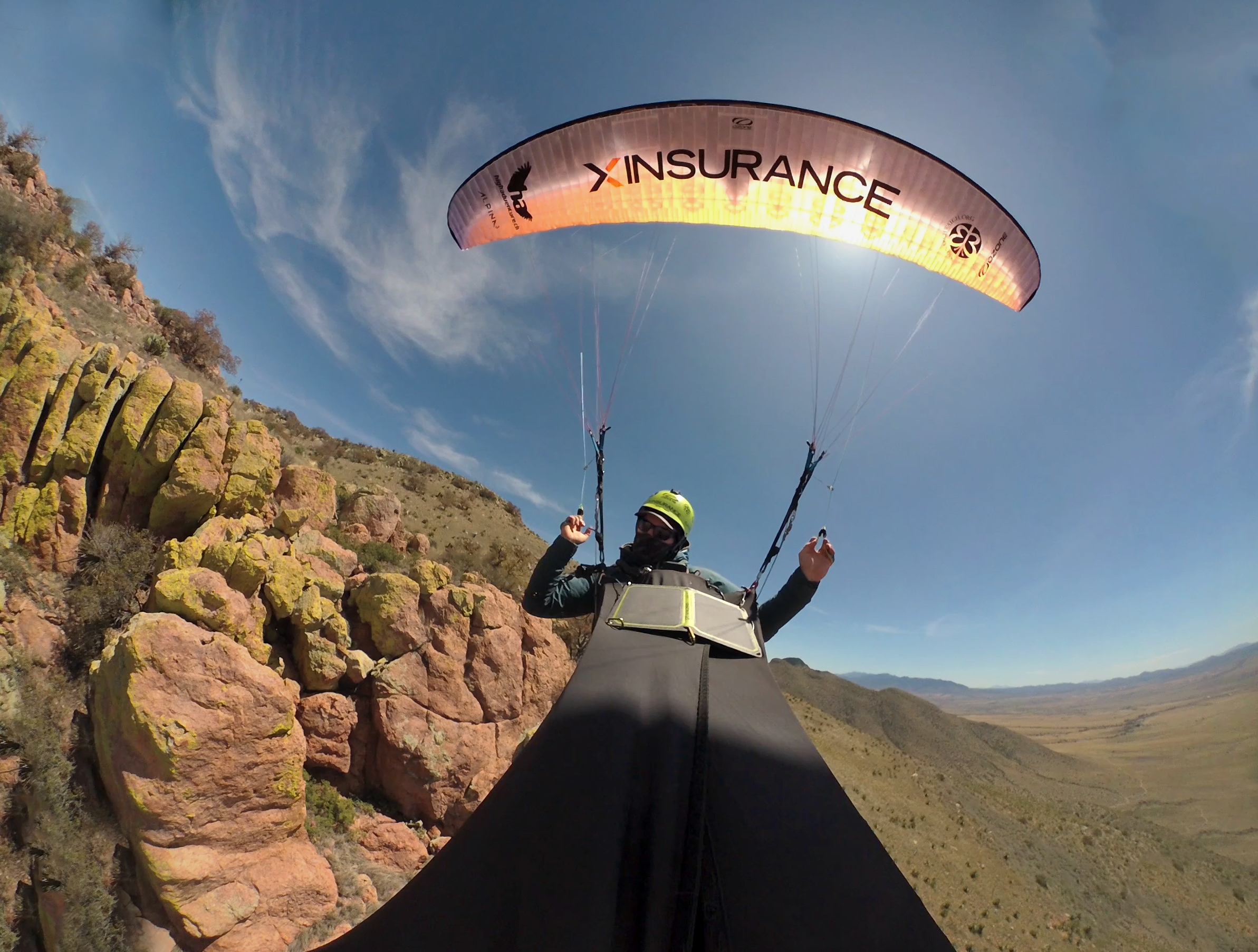 monarch butterfly paragliding mission mexico to canada