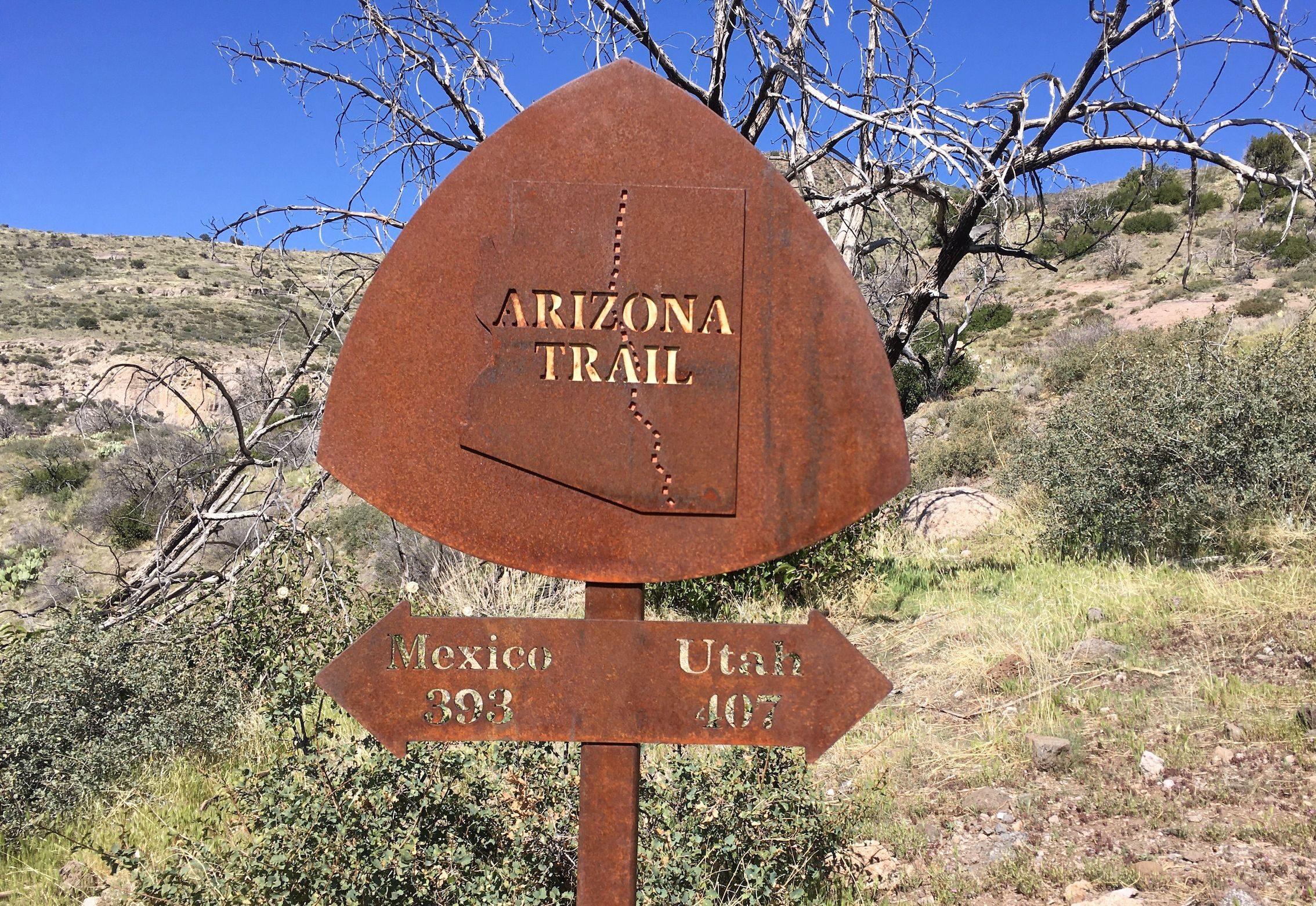 arizona trail sign