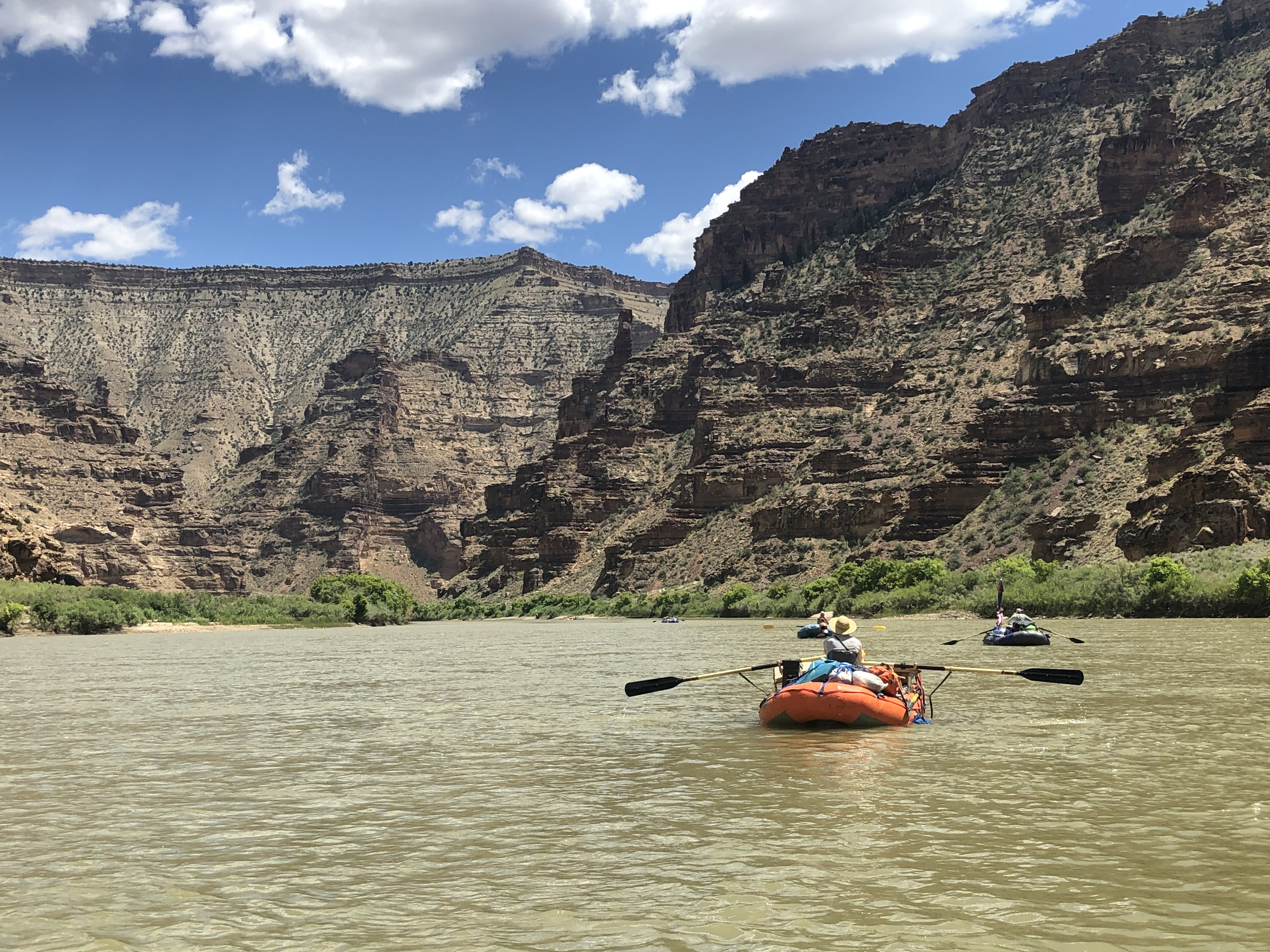 multi day river trip desolation canyon green river utah