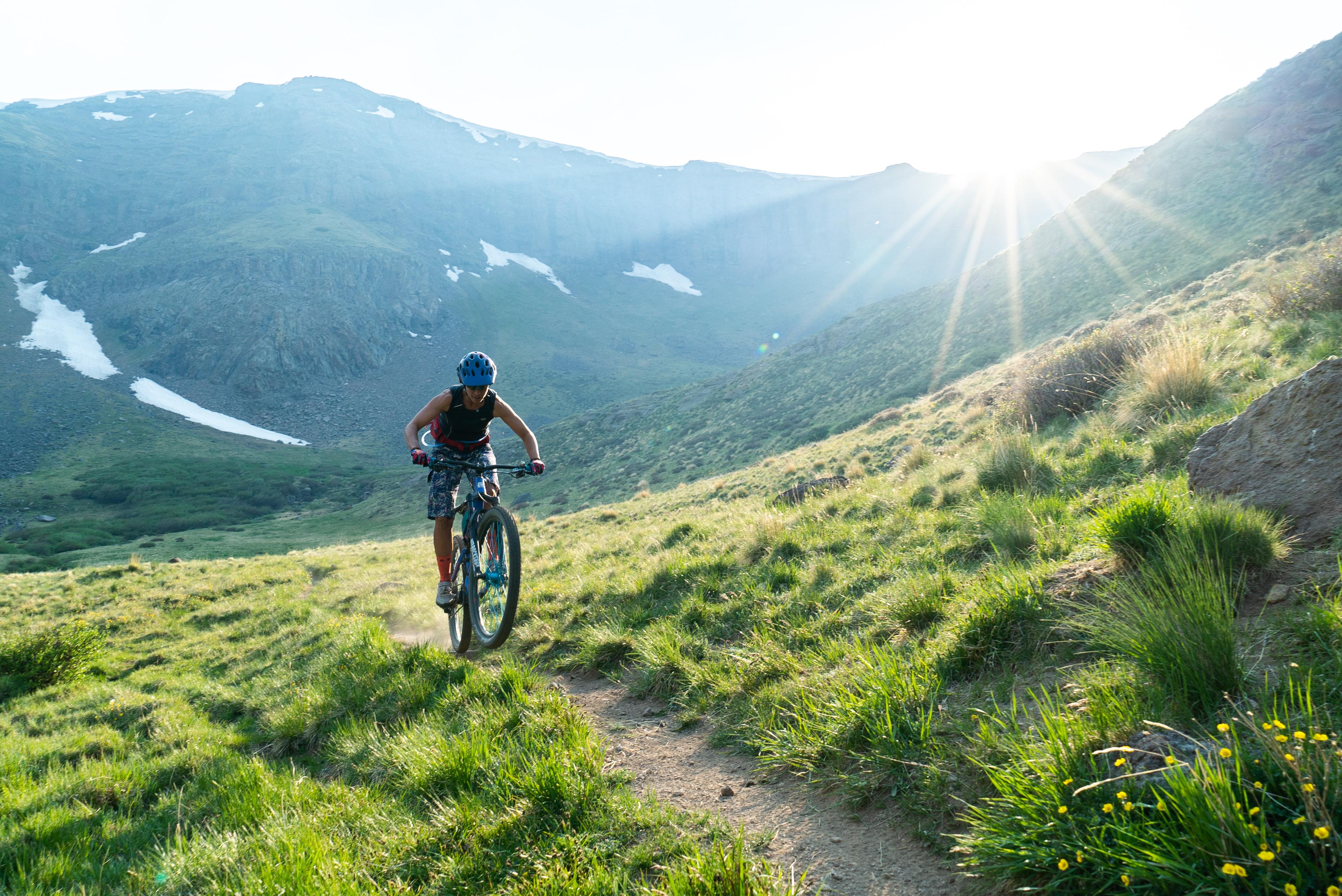 San Luis high country mountain biking