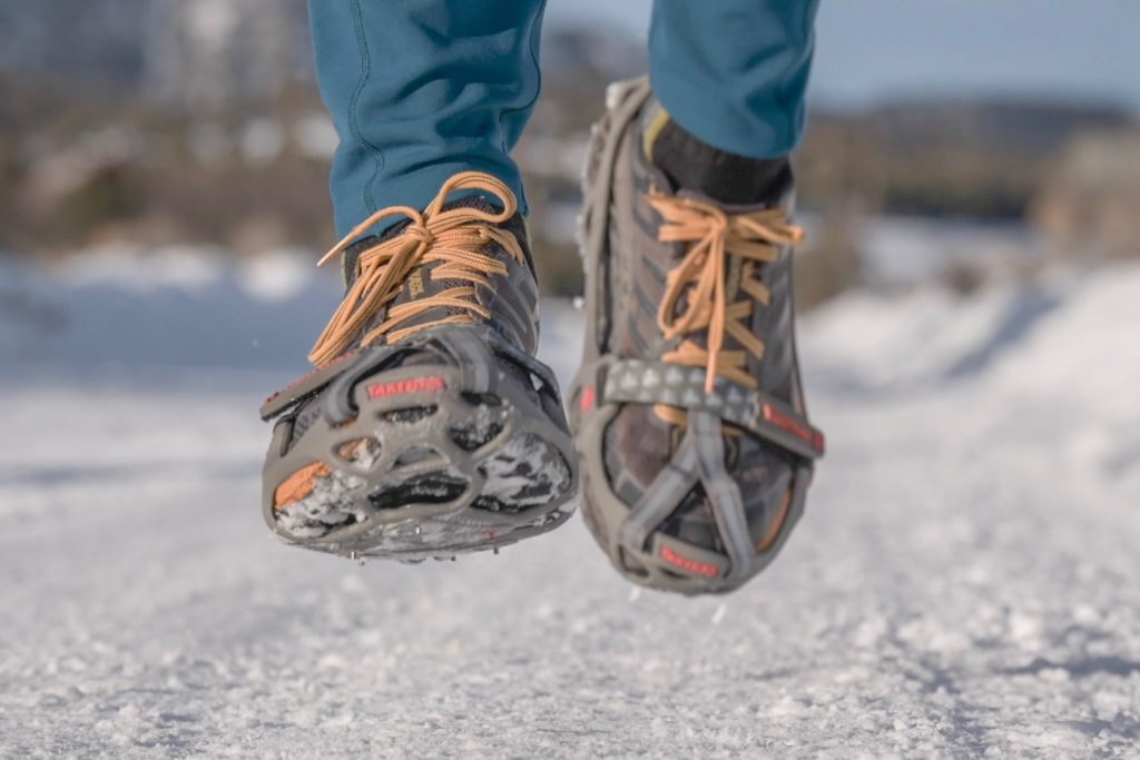 When it snows getting your run in is all up in the air. Yaktrax Run lets you dig in deep.
