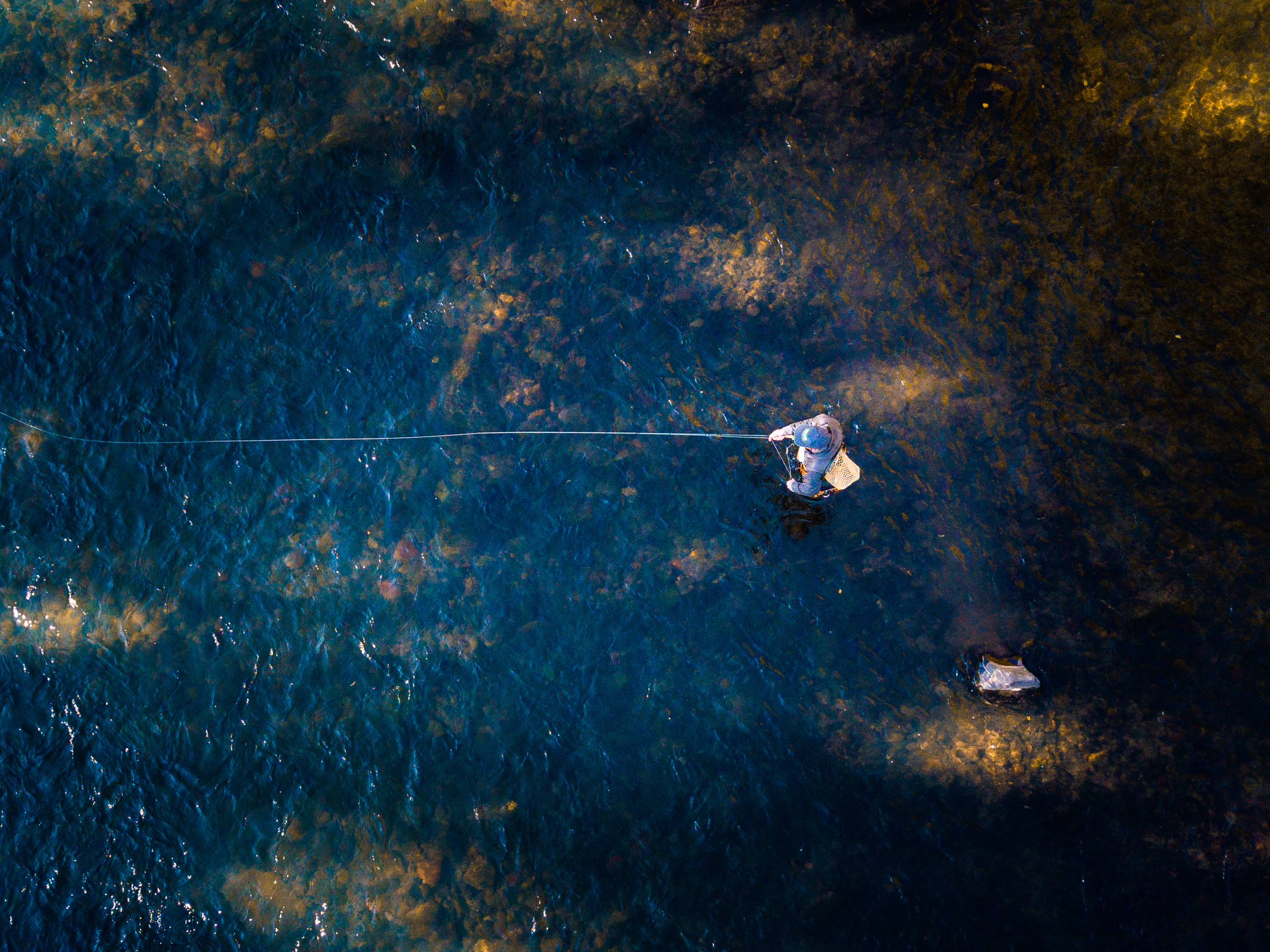 fly fishing animas river aerial
