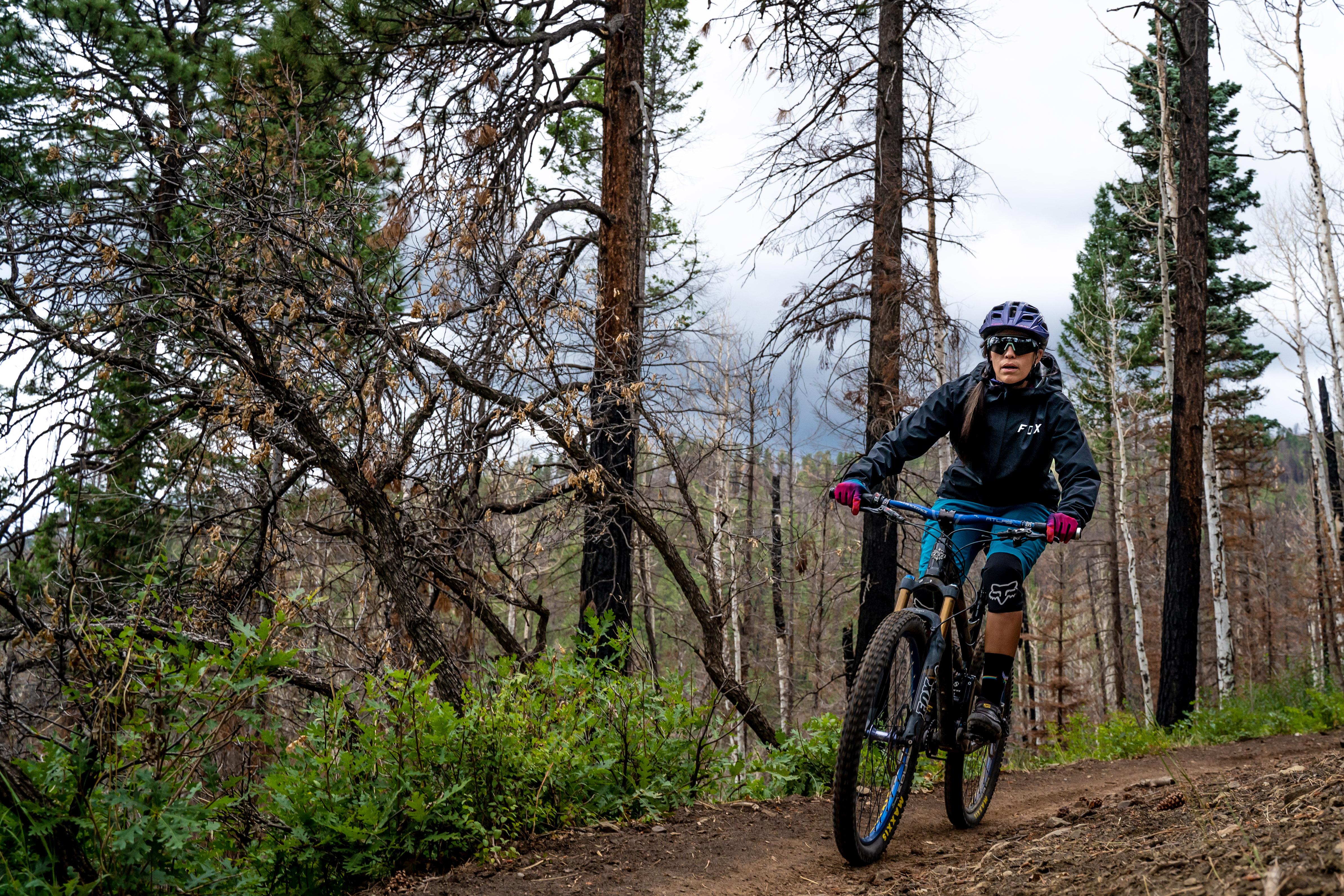 fox women's ranger rain jacket mountain biking gear review