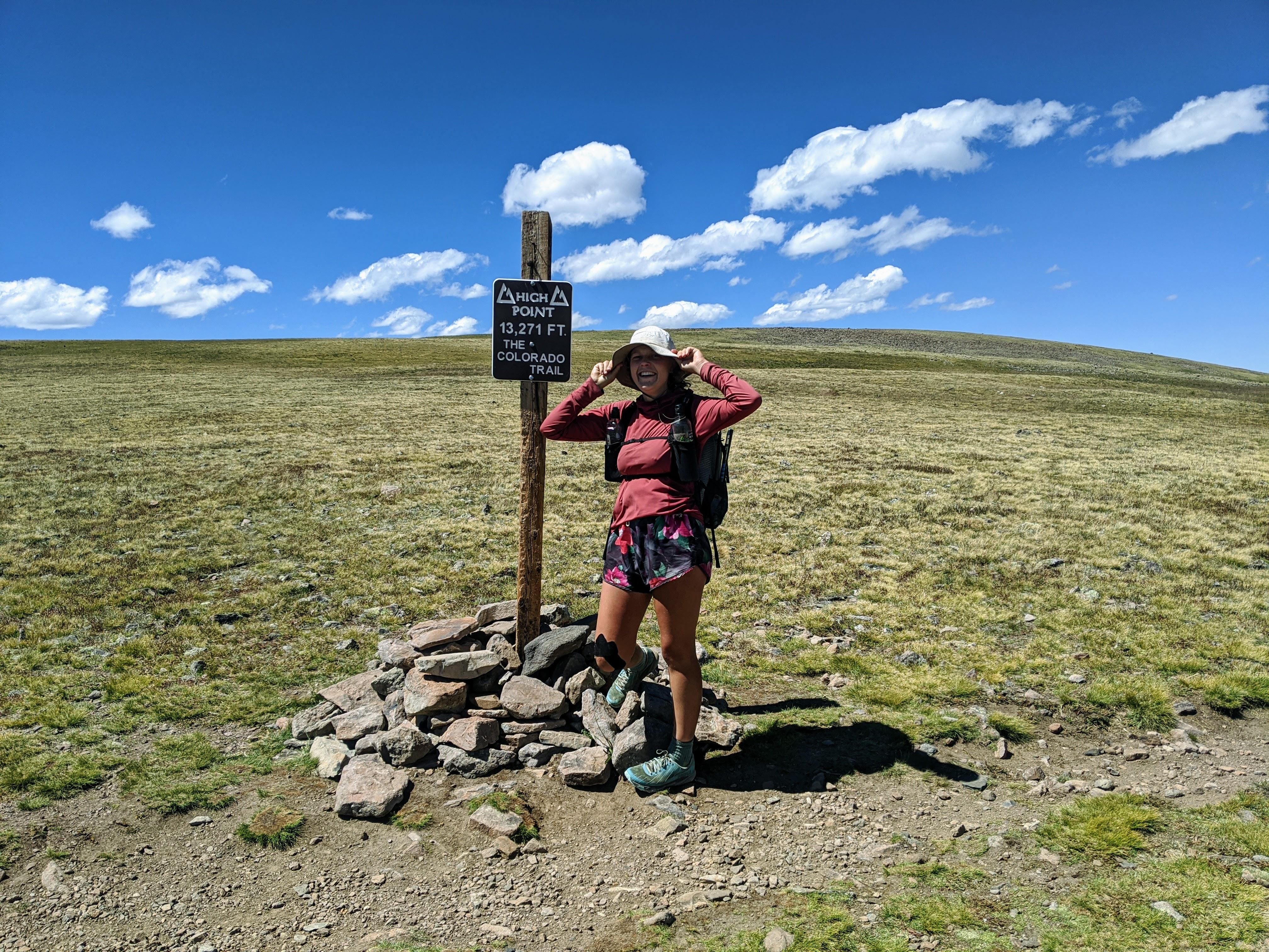 colorado trail high point mikaela osler fkt