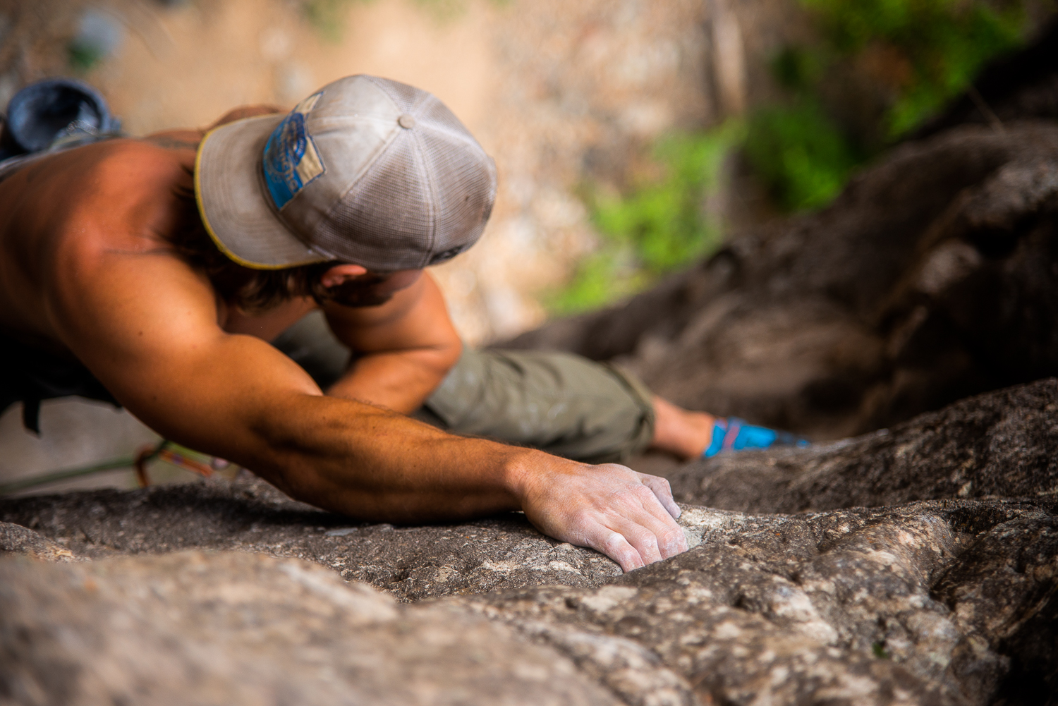 overhead rock climbing angle sports photography behind the lens