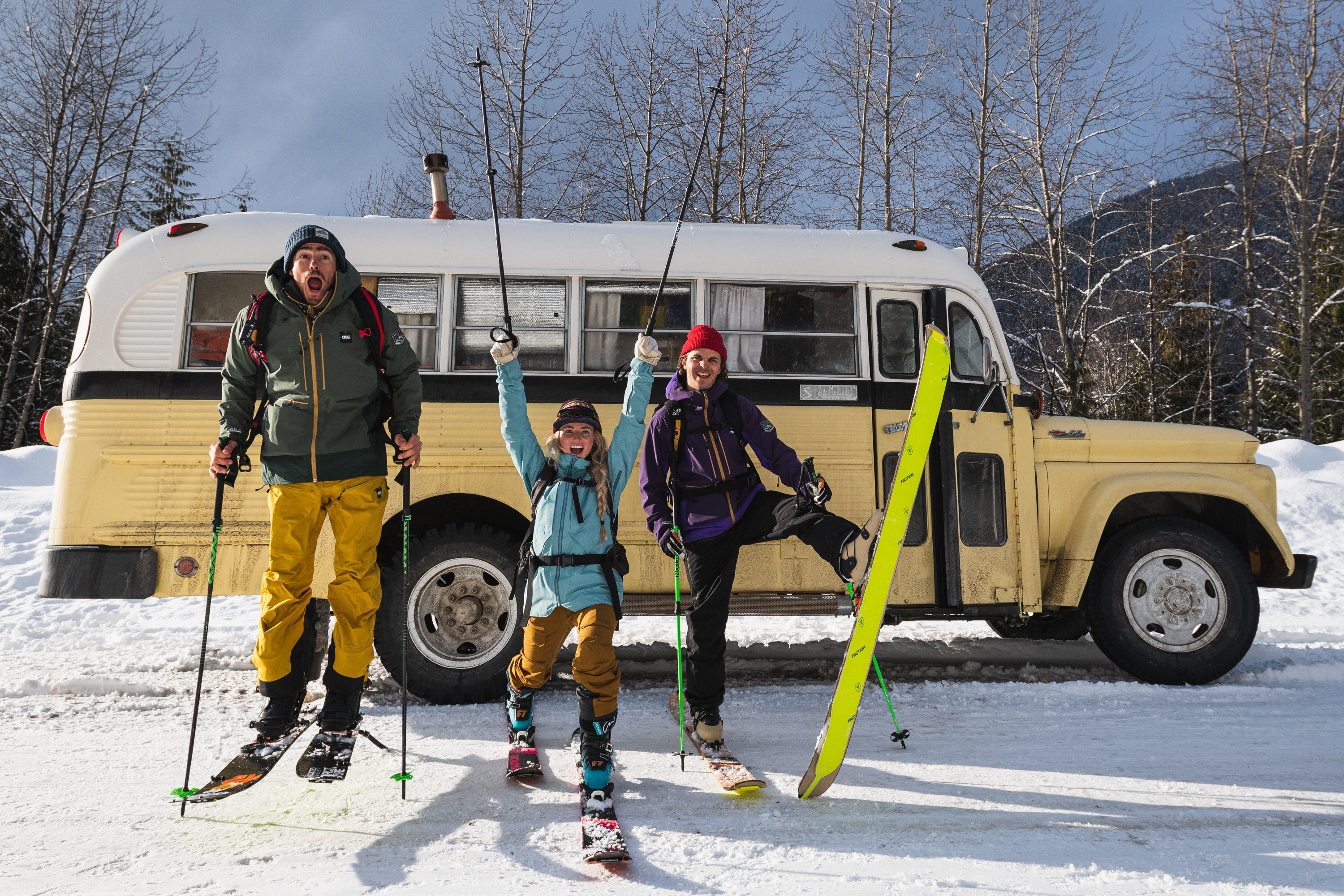 ski film picture organic clothing made in voyage winter stoked matthew tufts