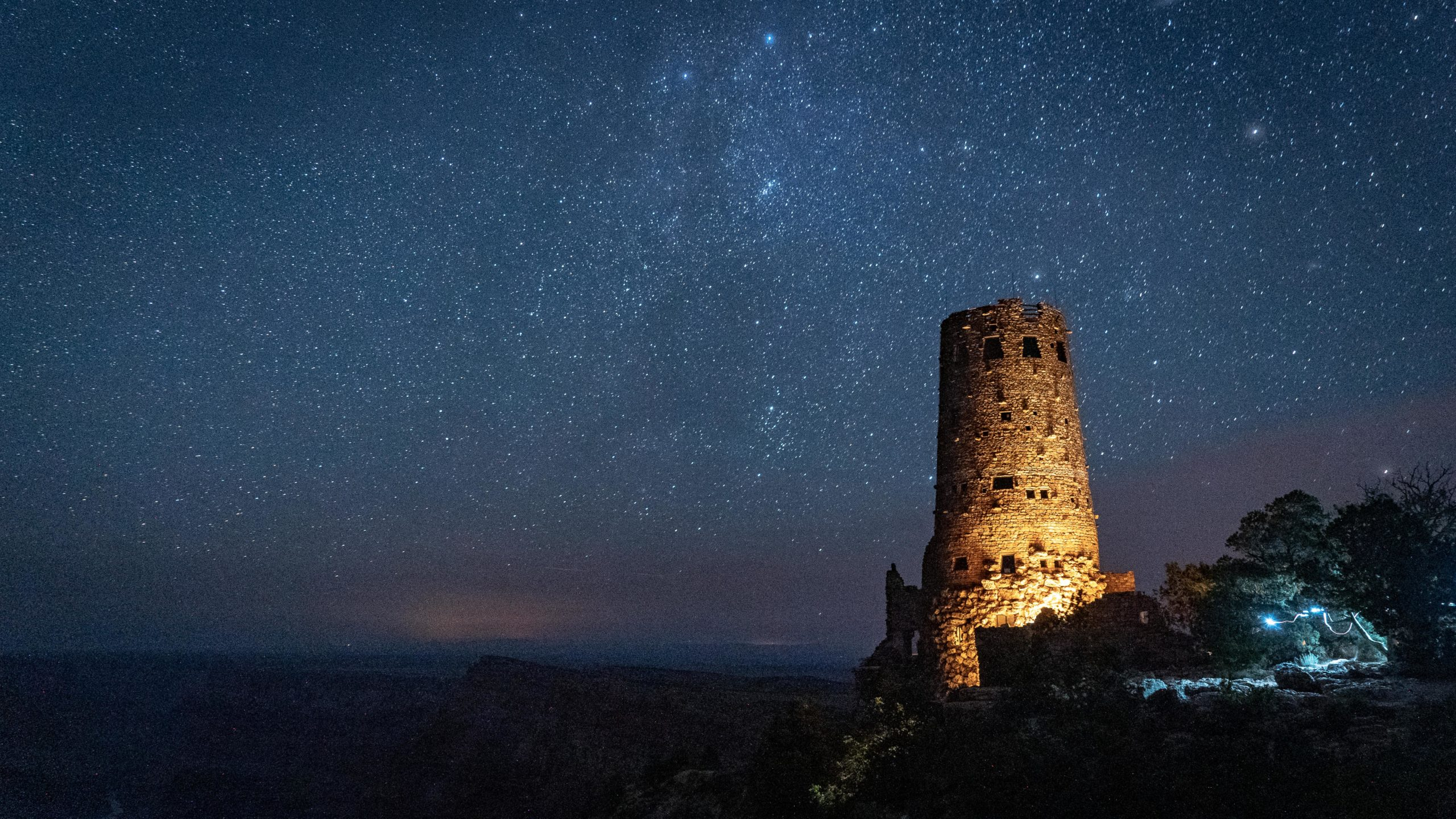 timelapse photography desert view watchtower grand canyon national park