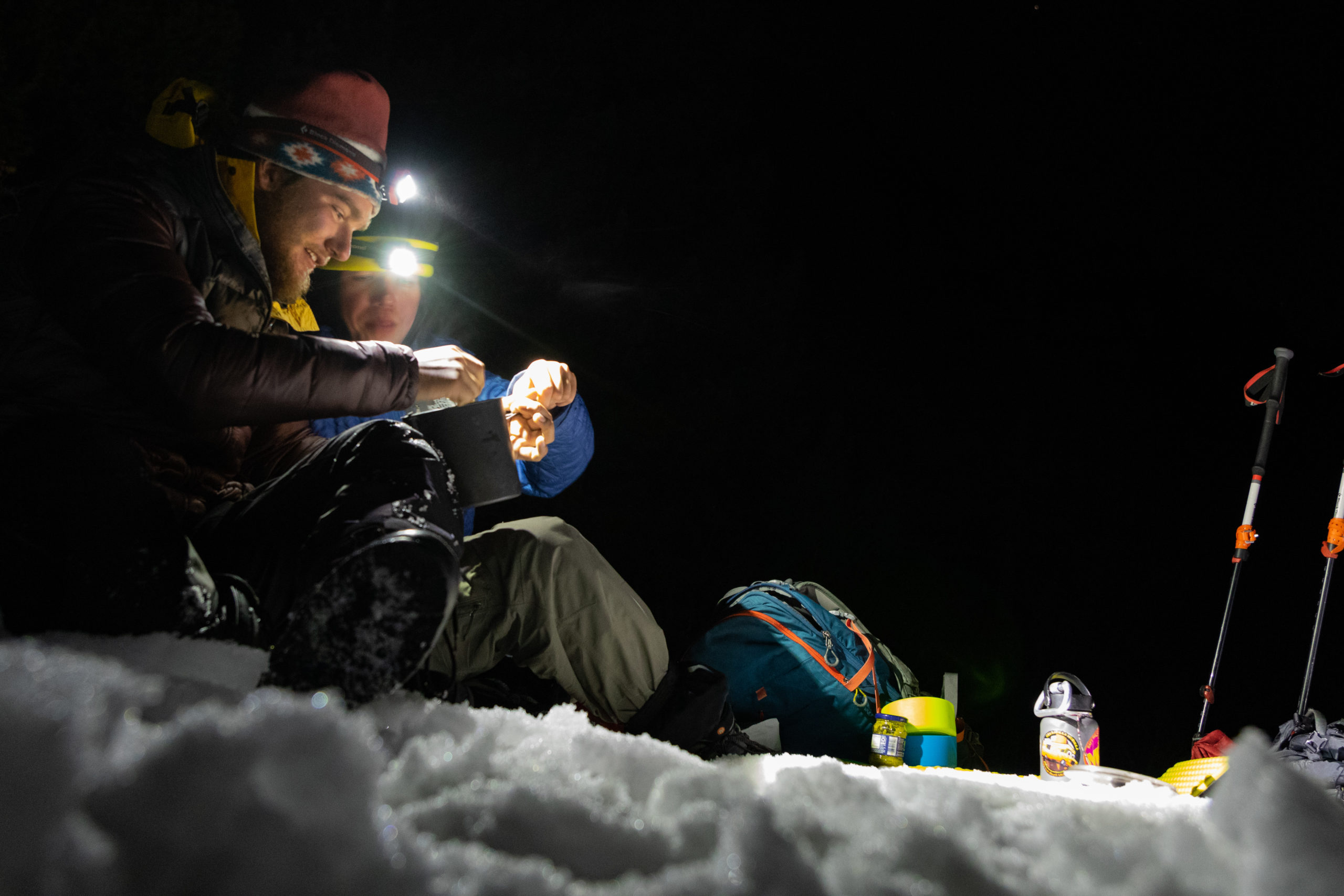 snow camping featured image