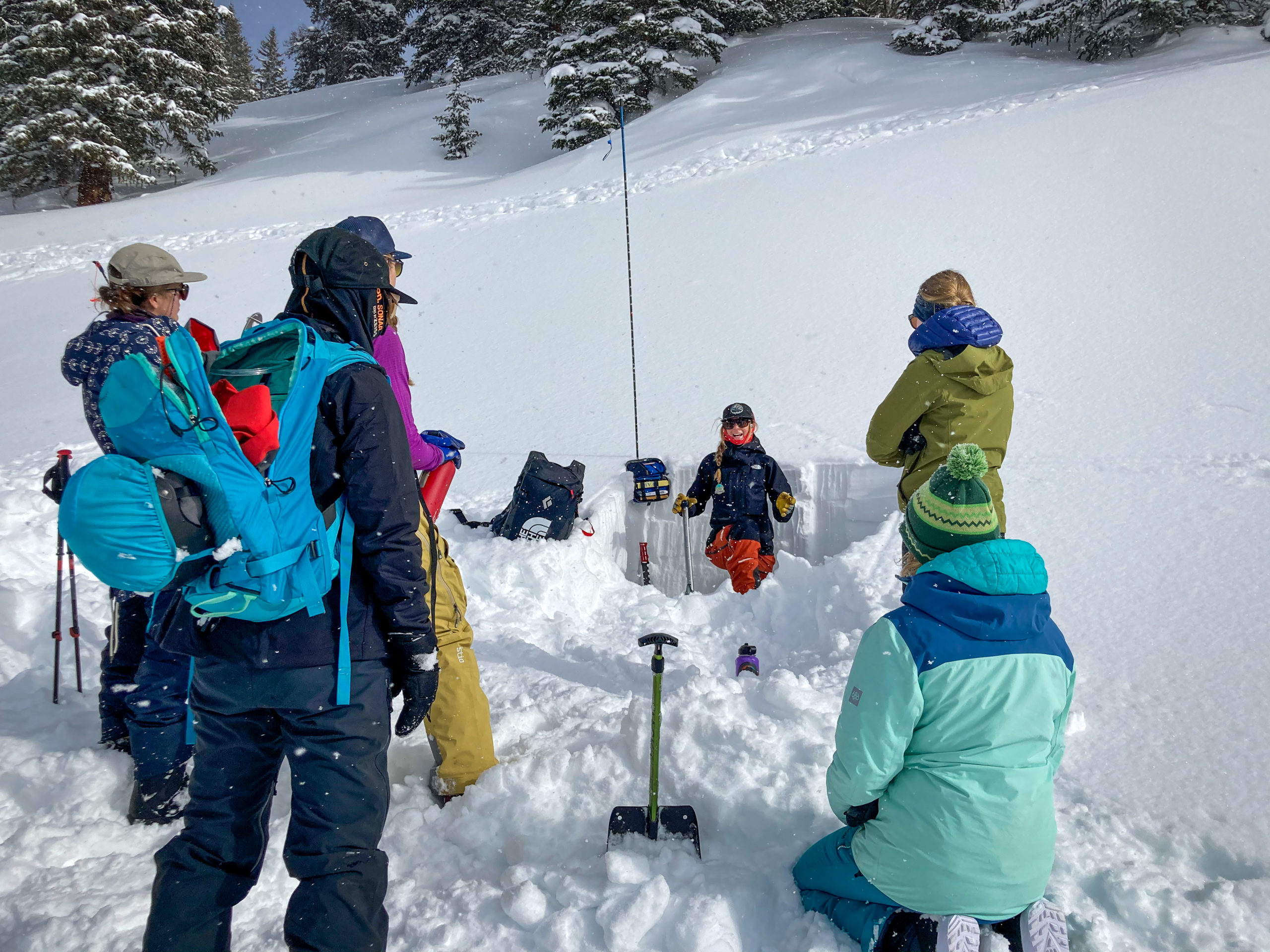 avalanche AIARE level 1 san juan expeditions march 2021 events