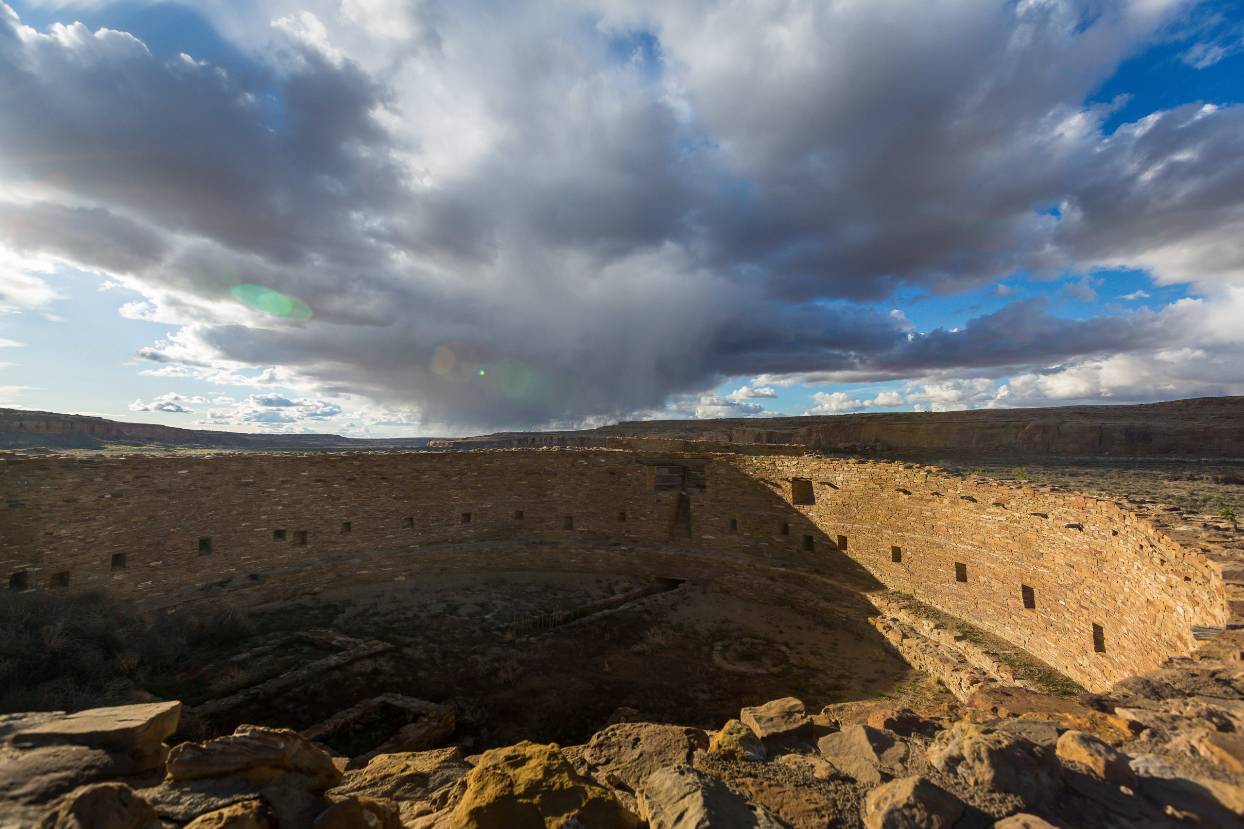 chaco canyon south mesa trail
